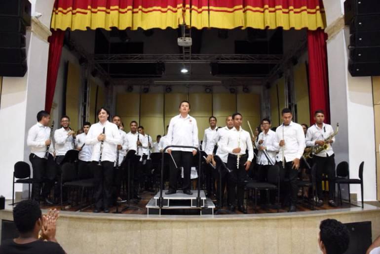 Este miércoles, concierto de la banda sinfónica Giovanni De Sanctis en la Unibac: Este miércoles, concierto de la banda sinfónica Giovanni De Sanctis en la Unibac