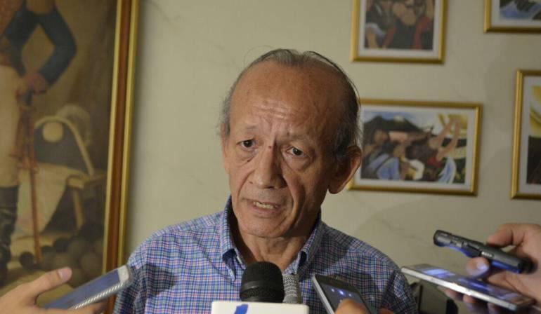 Alcalde encargado de Ibagué, Hugo Ernesto Zárrate