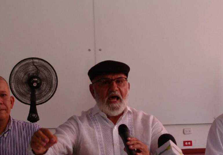 Bernardo Hoyos Montoya, exalcalde de Barranquilla.