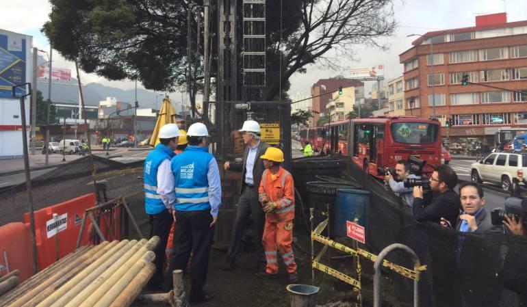 Arranca exploración geotécnica de suelos para obra del metro de Bogotá