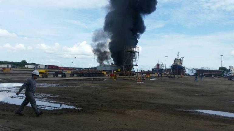 Explosiones en Cartagena: No tenemos elementos para afirmar que hay relación entre las dos explosiones: Cotecmar