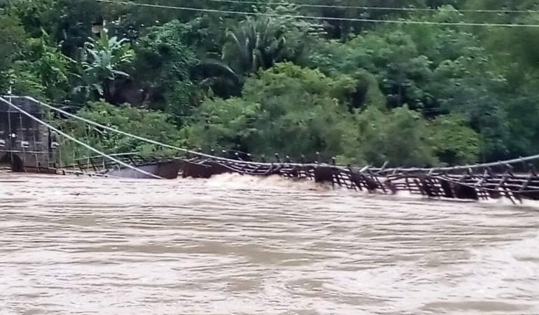 Manizales; Caldas; emergencias; río Magdalena; río Cauca: Varios ríos y quebradas generan emergencias en Caldas
