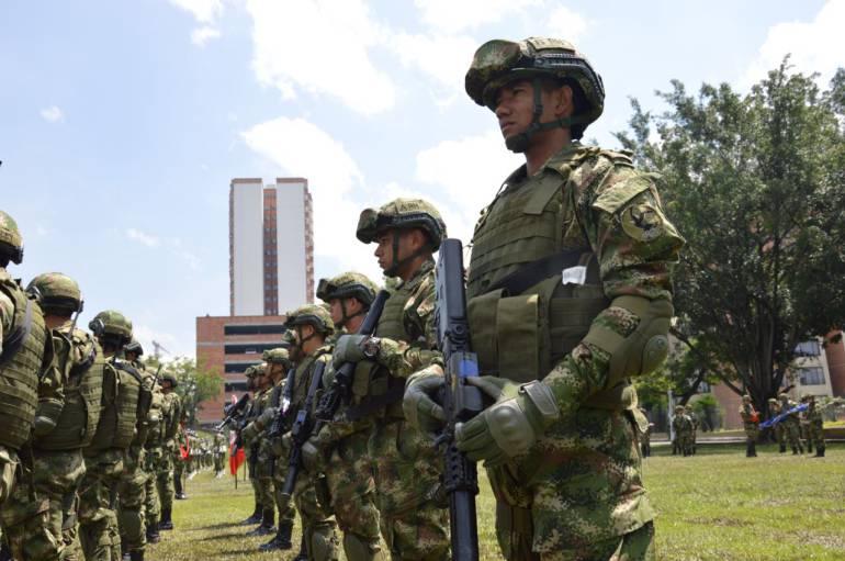 Batallón de Fuerzas Especiales Urbanas en Medellín: Batallón que antes combatía a las Farc ayudará con seguridad ciudadana en Medellín