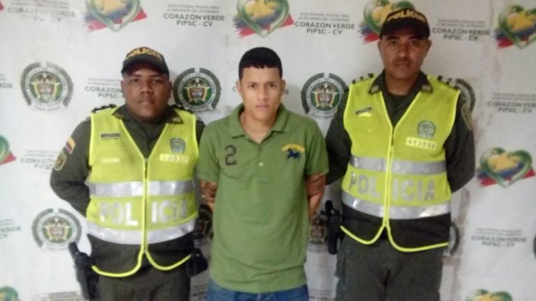 Detenido supuesto sicario en  Barranquilla.