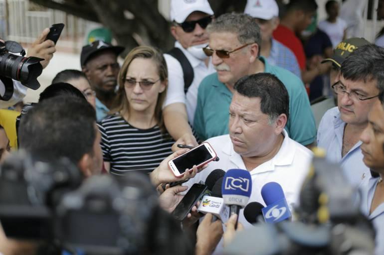 Suspensión Manolo Duque: Manolo Duque, alcalde de Cartagena, asegura que la Procuraduría está siendo engañada