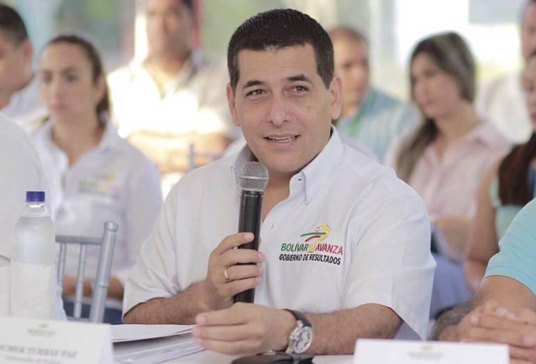 Por la suspensión del alcalde, Cartagena no puede detenerse: Gobernador de Bolívar: Por la suspensión del alcalde, Cartagena no puede detenerse: Gobernador de Bolívar