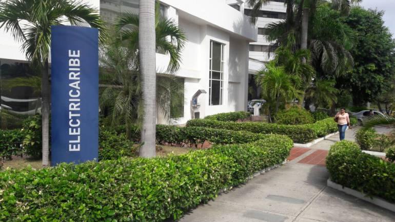 Sede norte de Electricaribe en Barranquilla.