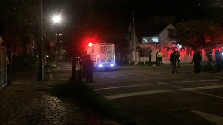 Fuerte explosión en el centro de Bogotá
