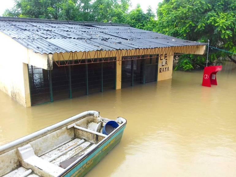 65 colegios de Bolívar, bajo el agua: 65 colegios de Bolívar, bajo el agua