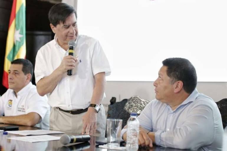 """""""Espero que el alcalde de Cartagena salga bien librado"""": Mininterior: """"Espero que el alcalde de Cartagena salga bien librado"""": Mininterior"""