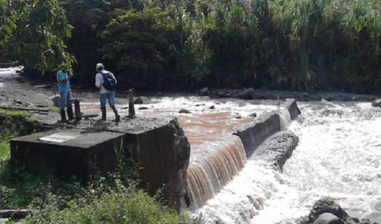 El invierno afecta acueductos rurales de Pereira