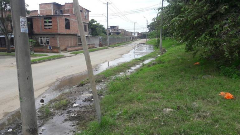 CVC detecta filtración en el Jarillón del Río Cauca: Filtración en Jarillón del Río Cauca en Calimio, detecta la CVC