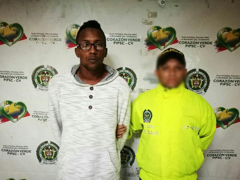 Alias Cola y Pola presunto homicida de una menor en el barrio San Roque.