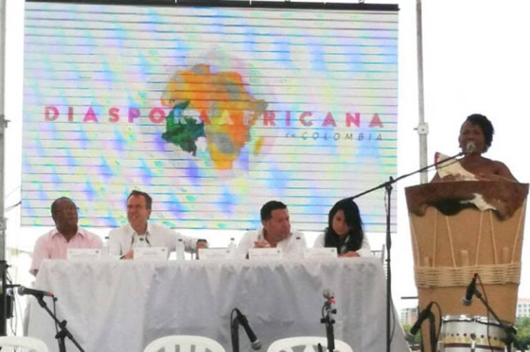 MinCultura lanzó en Cartagena el proyecto Diáspora Africana en Colombia: MinCultura lanzó en Cartagena el proyecto Diáspora Africana en Colombia