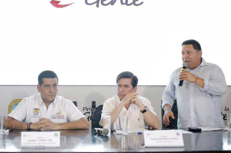 """""""Proyectos para los cartageneros continuarán"""": alcalde Manolo Duque: """"Proyectos para los cartageneros continuarán"""": alcalde Manolo Duque"""
