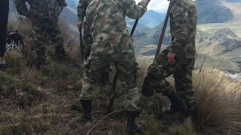 Soldados del batallón Ayacucho de Manizales e investigadores del CTI son investigados por caso de falsos positivos.