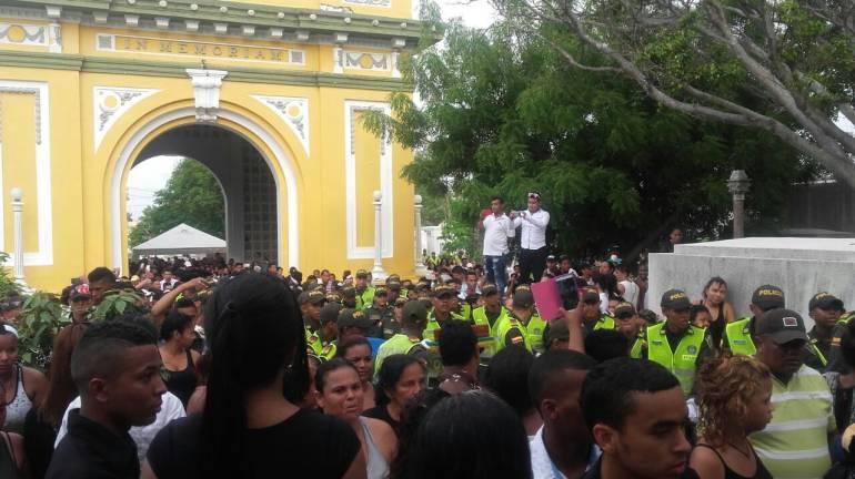 Auxiliar de Policía fue asesinado de un balazo en Barranquilla