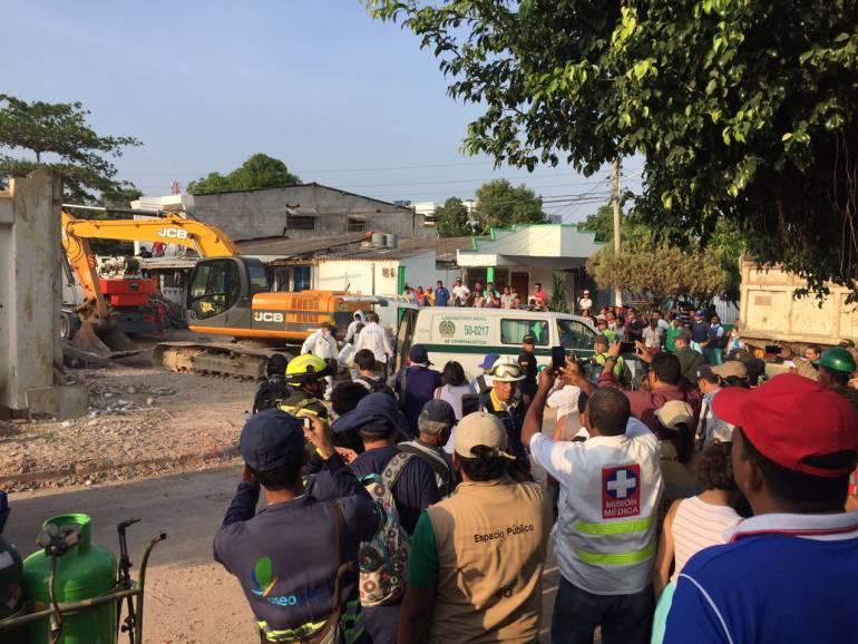 Constructores de edificio que se desplomó en Cartagena se presentaron en la Fiscalía