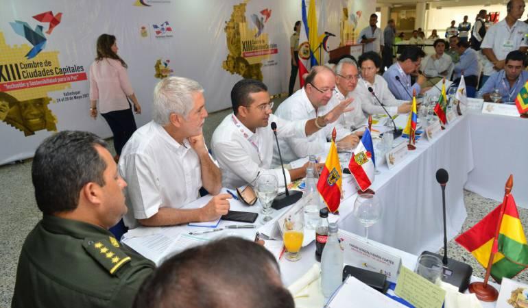 Augusto Ramírez Uhía, anfitrión de la XIII Cumbre de Ciudades Capitales /Cortesía Alcaldía Valledupar.