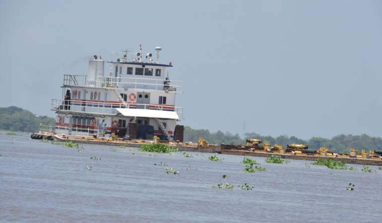 Transporte fluvial por el río magdalena: Restricciones en la navegabilidad del río Magdalena a la altura del municipio de El Banco