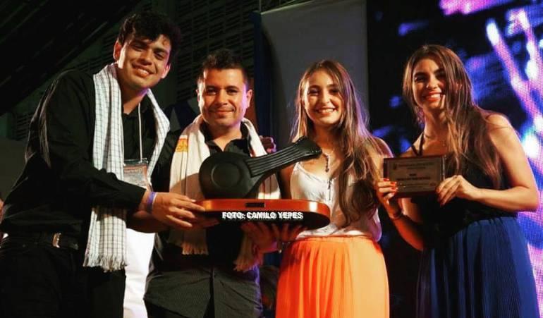 También ganaron como mejor dueto vocal en este concurso en Ginebra, Valle del Cauca