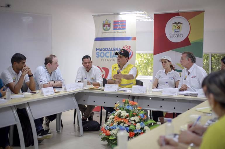 Gobernador de Bolívar propone 'aprobatón' de obras de mitigación ante el invierno: Gobernador de Bolívar propone 'aprobatón' de obras de mitigación ante el invierno