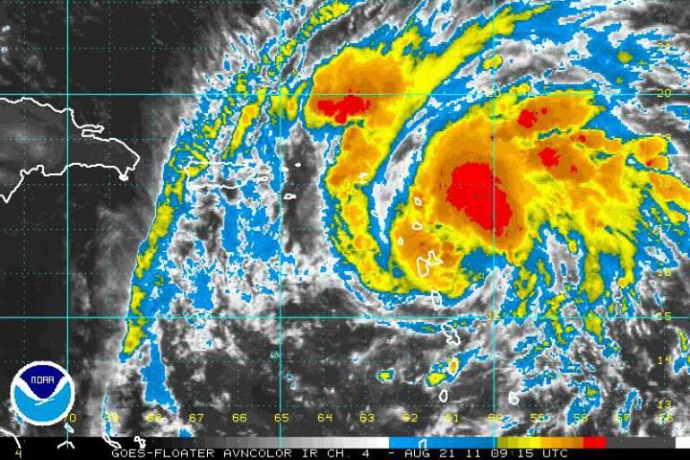 Paso del huracán Harvey por Estados Unidos: Trump pide a Texas prepararse para el paso del huracán Harvey