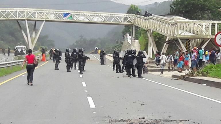 Paro Cívico en Buenaventura: Human Rights Watch pide uso proporcionado de la fuerza en Paro Cívico