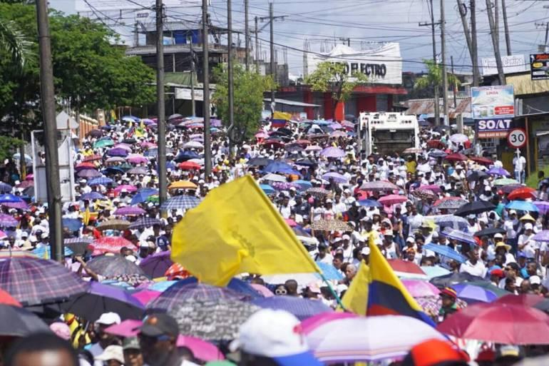 Paro en Buenaventura continuará hasta que Gobierno colombiano cumpla