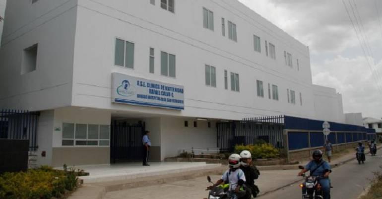 Maternidad Rafael Calvo de Cartagena sin riesgo financiero: Gerente