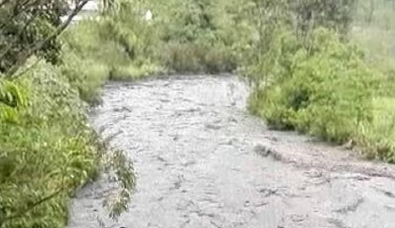 Creciente del río Negro: Alerta Roja en Fómeque, Cundinamarca ... - Caracol Radio