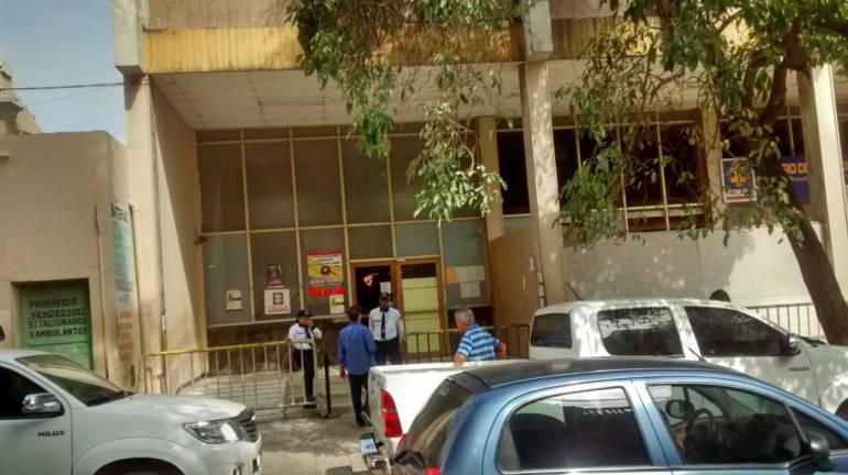 Instalaciones de la Uri de la Fiscalía Barranquilla.