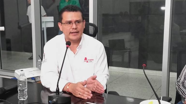 Secretario de salud del Atlántico, Armando de la Hoz.