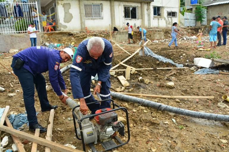 Lote del edificio colapsado en Cartagena generó malestar por contaminación: Lote del edificio colapsado en Cartagena generó malestar por contaminación