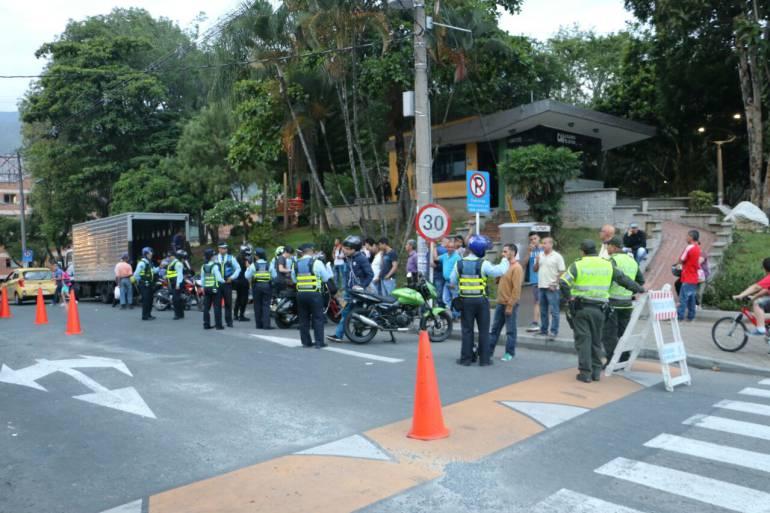 Aumentan los operativos de control en Medellín