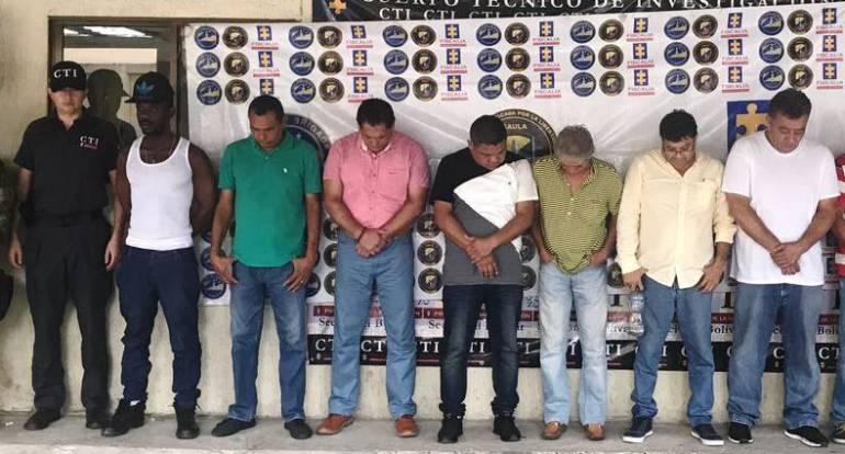 Miembros del Clan del Golfo capturados por narcotráfico