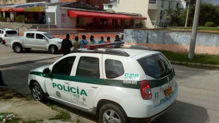 Barrio Los Nogales, Barranquilla.