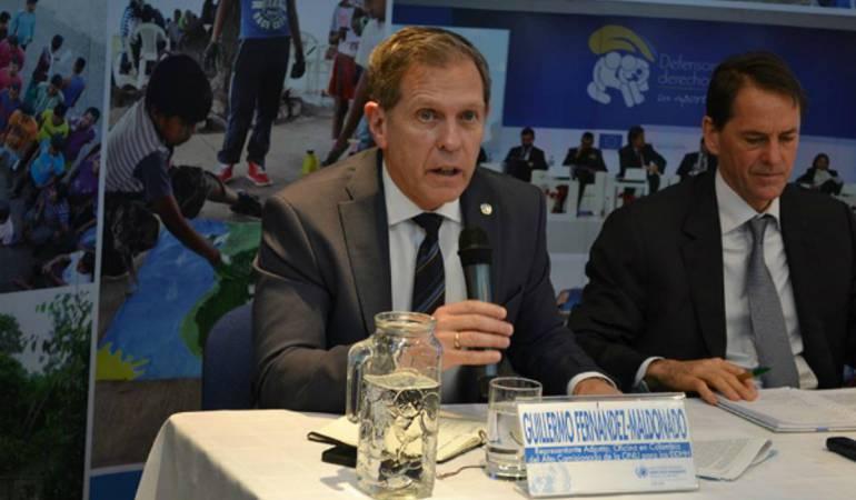 Guillermo Fernández Maldonado. Representante Oficina Alto Comisionado para los DDHH.