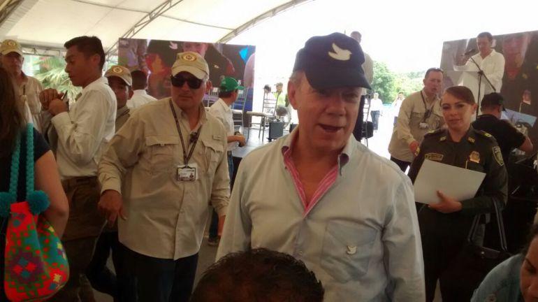 Se acaban las Farc: Presidente Santos dice que el martes 20 de junio se acaban las Farc