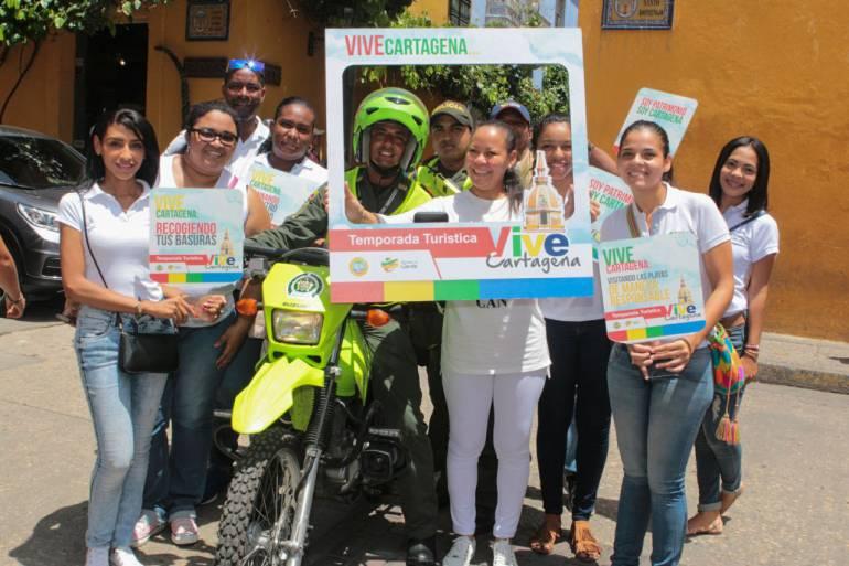 """Lanzan campaña de cultura ciudadana """"Vive Cartagena"""": Lanzan campaña de cultura ciudadana """"Vive Cartagena"""""""