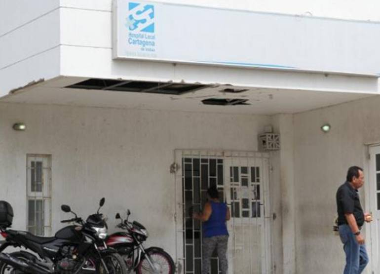 Pánico por ataque a paciente dentro de CAP de Canapote en Cartagena: Pánico por ataque a paciente dentro de CAP de Canapote en Cartagena