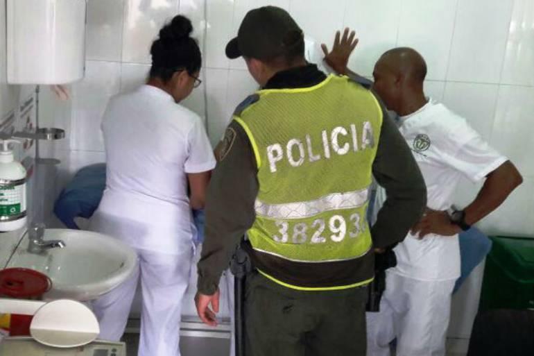 Rescatan a bebe abandonado en una finca en el suroccidente de Cartagena: Rescatan a bebe abandonado en una finca en el suroccidente de Cartagena