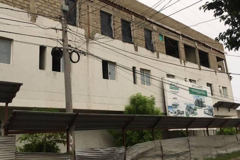 Nuevo ataque a la misión médica en el CAP del barrio Canapote en Cartagena: Nuevo ataque a la misión médica en el CAP del barrio Canapote en Cartagena