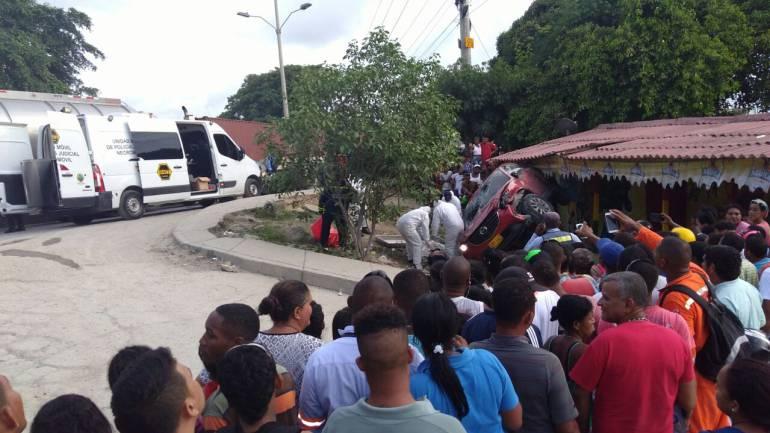 Muere en accidente de tránsito un motociclista en la zona industrial de Cartagena: Muere en accidente de tránsito un motociclista en la zona industrial de Cartagena
