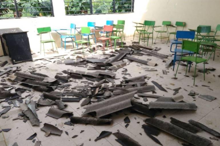 Vendaval causó estragos en Magangué y algunos corregimientos del municipio: Vendaval causó estragos en Magangué y algunos corregimientos del municipio