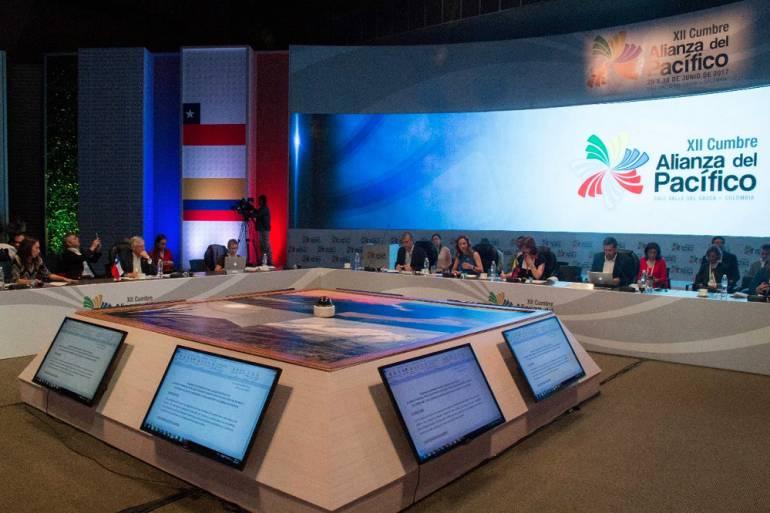 Arranca XII Cumbre del Pacífico en Cali: Presidentes de México, Perú, Chile y Colombia, en XII Cumbre Alianza del Pacífico en Cali