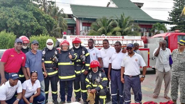 Seguridad archipiélago: Con nuevos equipos fortalecen seguridad en San Andrés