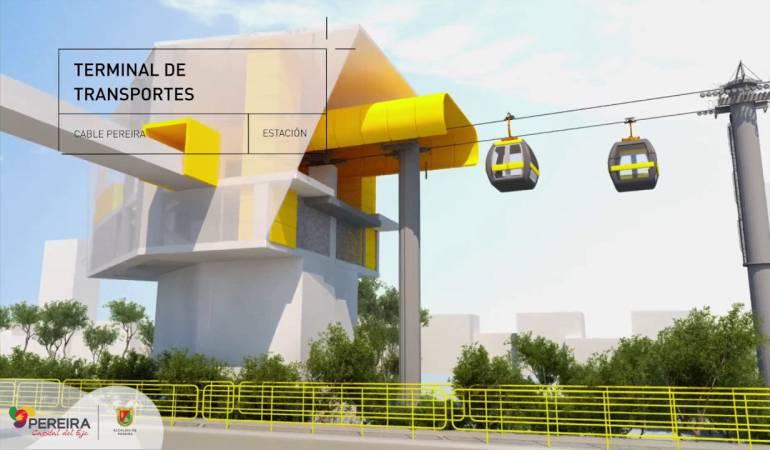 Cable aéreo de Pereira: 130 mil millones de pesos será 'el techo' en la licitación del cable aéreo