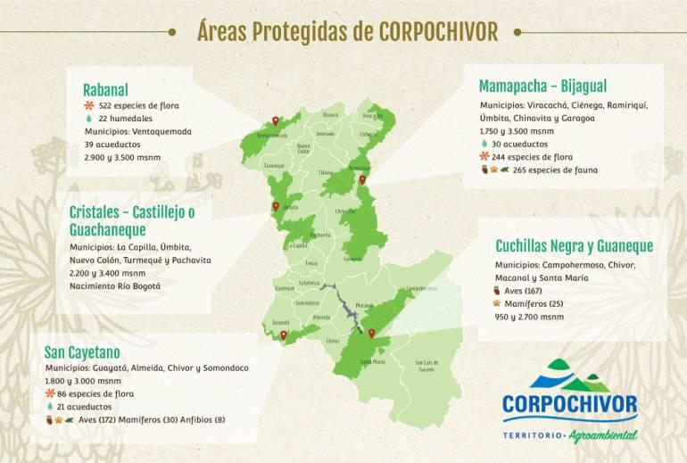 Boyacá delimita todos sus ecosistemas priorizados de la zona suroriental