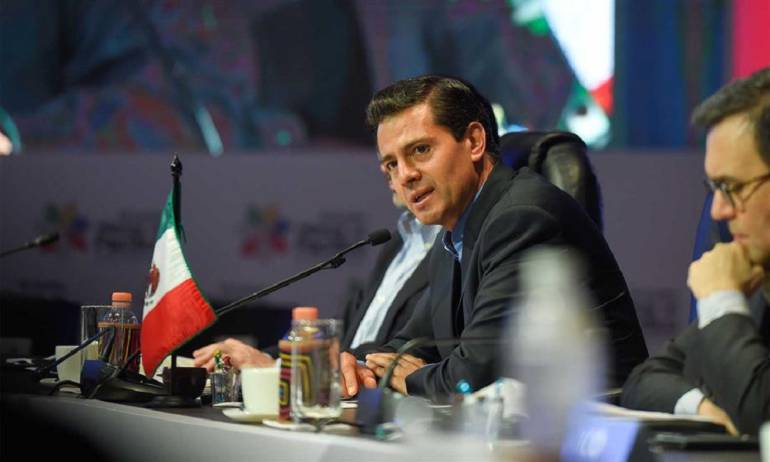 Cunbre Alianza del Pacífico: Presidente de México dice Colombia avanza a una paz estable y duradera